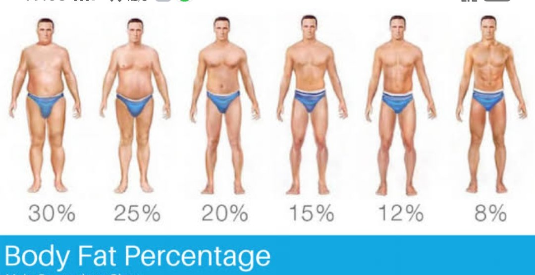 how find body fat percentage