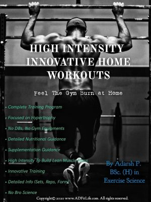 High Intensity Innovative home workouts
