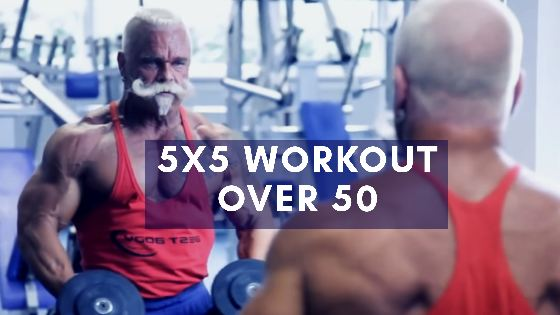 5x5 workout for over 50